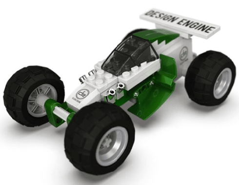A Design Engine lego car