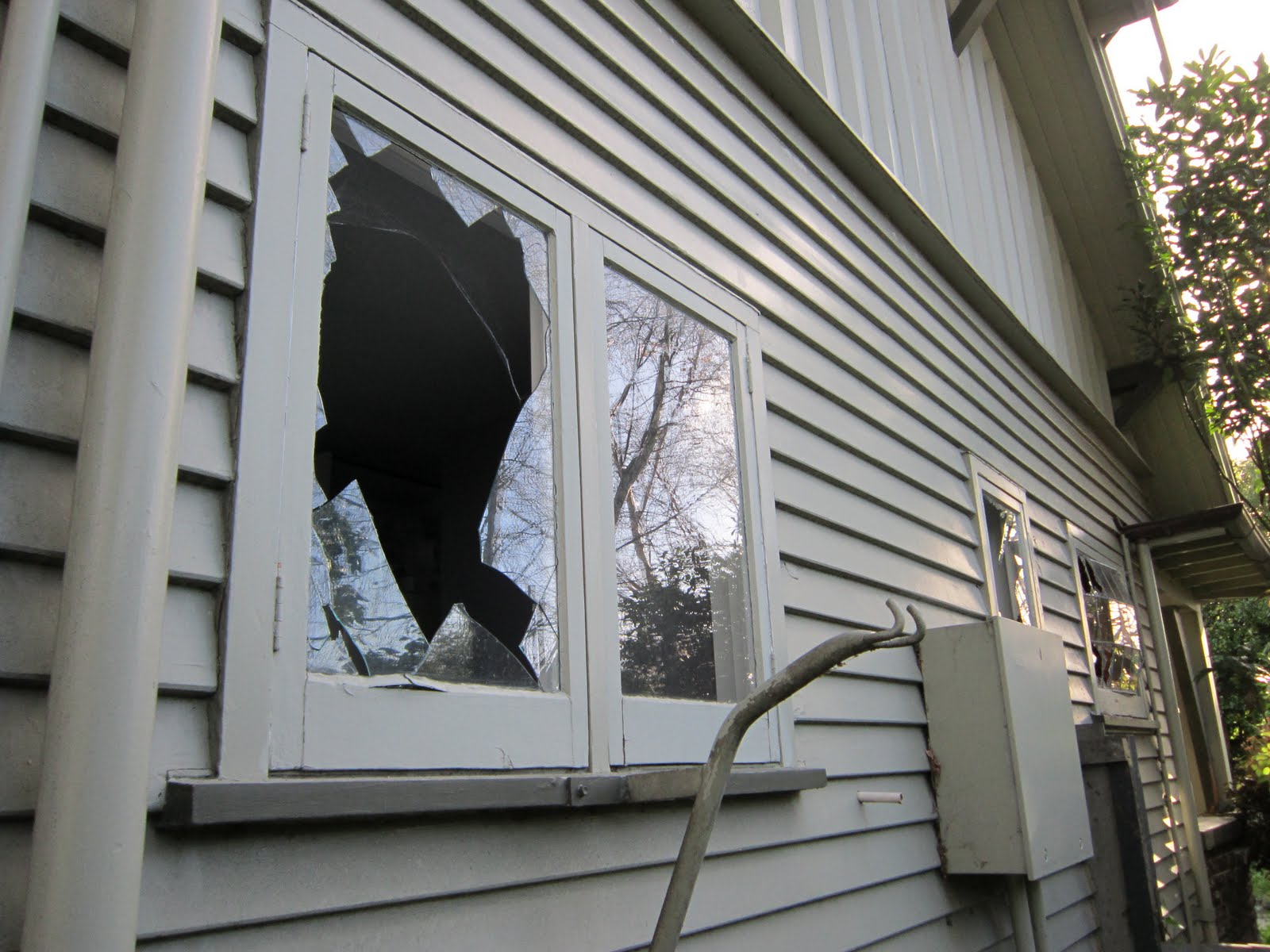 Image result for image of a shattered window