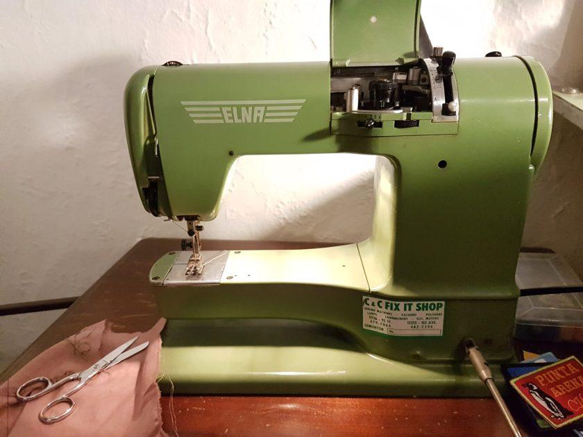 Machine à coudre Elna Supermatic 1956