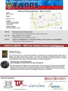 TAPPS - Training Seminar Spring 2014