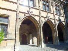 Hotel de Cluny, interior courtyard