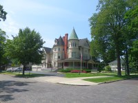 The former home of lumber baron, Perry Hannah