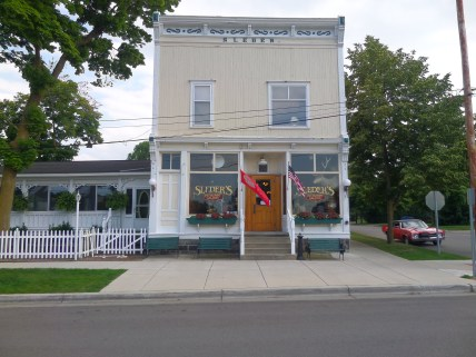 Sleder's Family Restaurant operating since 1882.