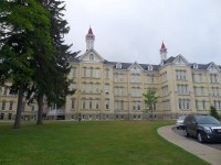 The Village at Grand Traverse Commons--a neat place to enjoy food and shopping amidst historical setting of former state psychiatric hospital.