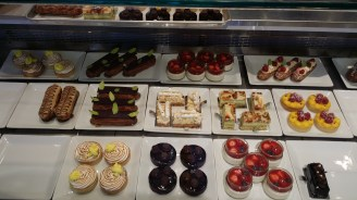 Desserts at Christian Faure