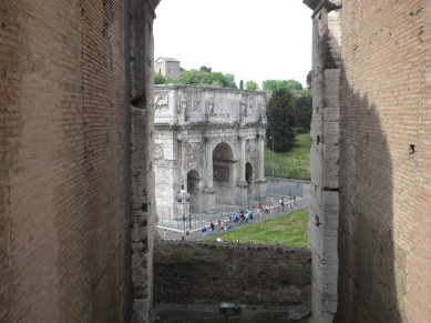 View of Arch of Constantine