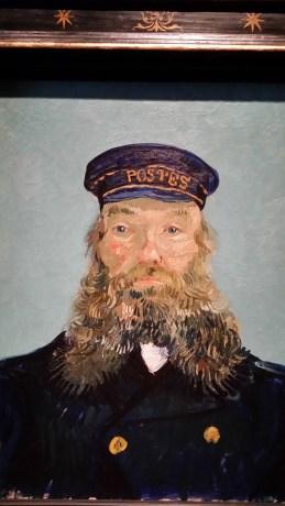 Postman Joseph Roulin by Van Gogh