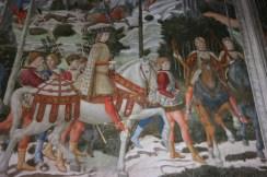 Fresco in Chapel of the Magi--Medici Palace