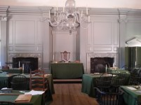 Assembley Room with Rising Sun Chair