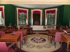 Congress Hall--Senate Chamber