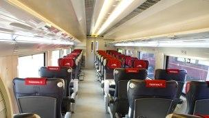 Prima Ambience on Italo train.