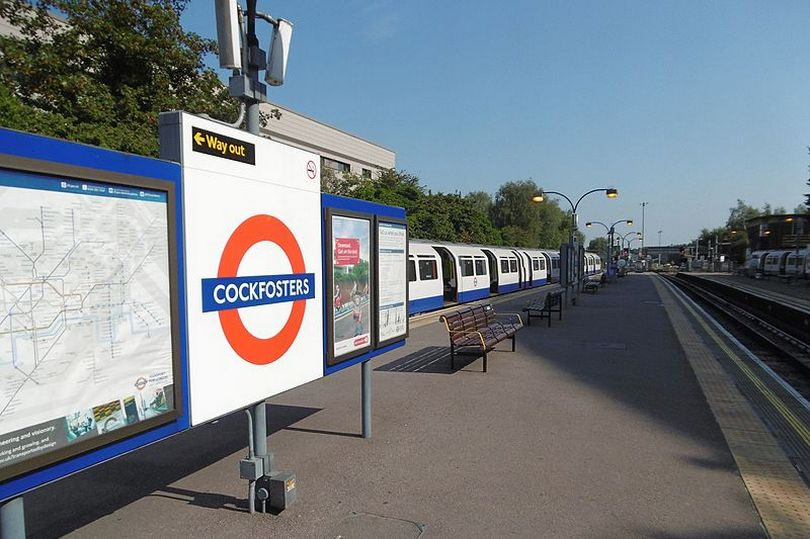 Cockfosters Underground Station - The rudest London Underground station names are...