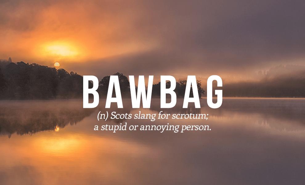 bawbag definition
