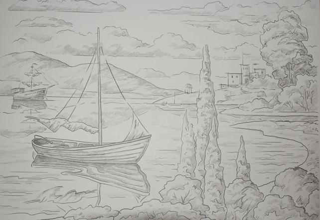 Paesaggio marino  profartelabvanvitelli