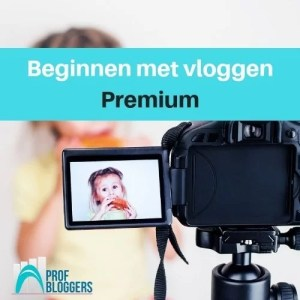 Beginnen met vloggen - premium