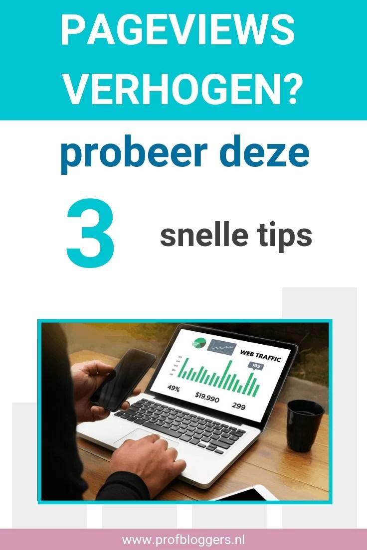 Hoe krijg je meer bezoekers op je blog? 3 snelle tips #statistieken #meerbezoekers #bloggen #profbloggers