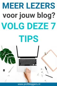 Waarom leest niemand mijn blog  - mijn blog wordt niet gelezen - 7 blogtips