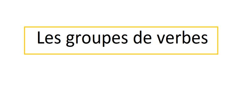 Archives Des Conjugaison Cours De Francais