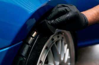 Зачем чернить резину на автомобиле и как правильно это делать