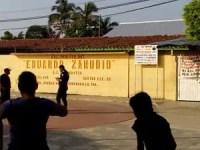 Gobierno utiliza policías para reportar escuelas en paro, acusan maestros de Tabasco
