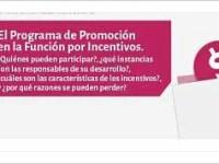 El Programa de Promoción en la Función por Incentivos
