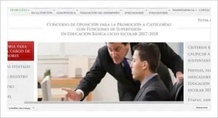 Convocatorias plazas de director supervisor y atp en for Convocatoria de plazas docentes 2017