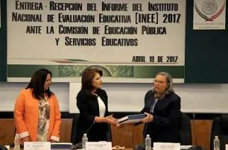 Presenta INEE informe 2017 del estado de la educación obligatoria en México.