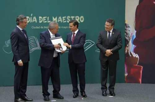 Foto: @PresidenciaMX