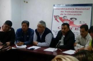 Que recursos de la evaluación docente se reasigne a reconstrucción de escuelas: CNTE