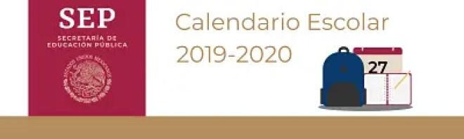 Calendario Escolar 2020 Sep Oficial.Calendario Escolar 2019 2020 De La Sep Oficial