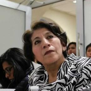 Mtra. Delfina Gómez Álvarez: los maestros estamos aquí