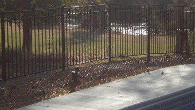 Starling style 3 rail aluminum fence by OnGuard is our most popular selling pool fence panel. We stock it in black only but it can be ordered in any of the other colors offered.