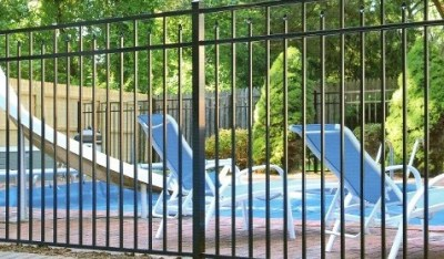 Eastern Aluminum Fence Style EO54200 54 inch BOCA Pool Code Compliant  fence