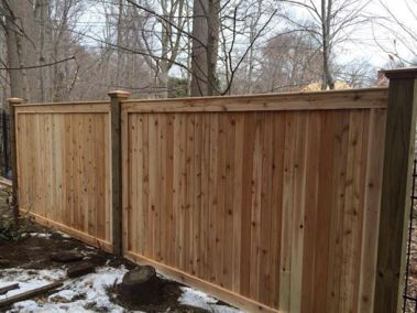 Eastern White Cedar Fence Products In A Variety Of Styles
