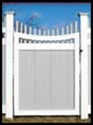 Illusions Vinyl Gate Styles - Tongue And Groove Gates