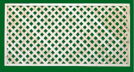 215 Diagonal Lattice - Cedar Lattice Fence Panels - Pro Fence Supply
