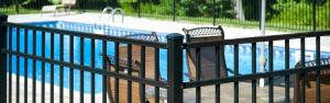 Eastern Ornamental Aluminum Pool Fence