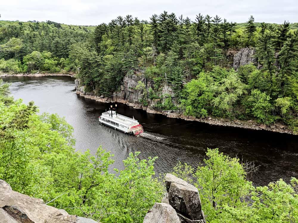 st. croix river boat