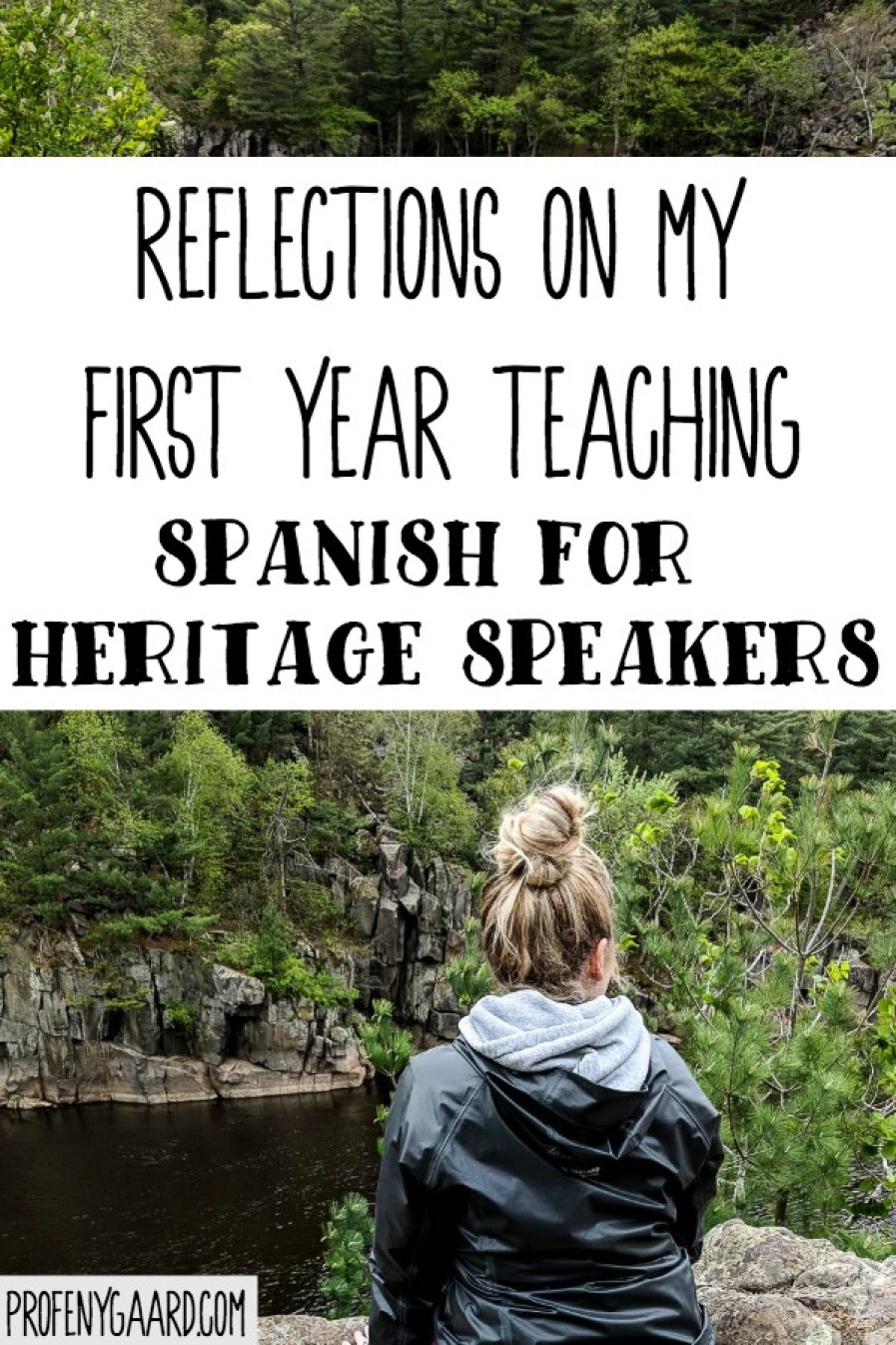 reflections on my first year teaching Spanish for Heritage Speakers