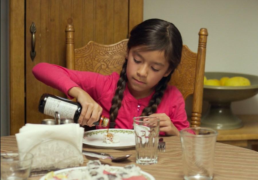 Juana's daughter in East Side Sushi