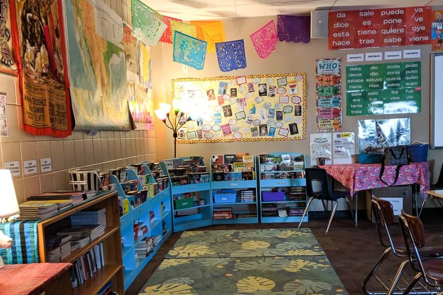 heritage spanish classroom