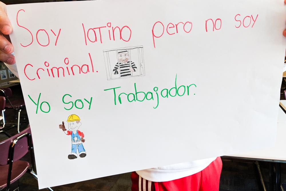 soy latino pero no soy criminal. Soy trabajador.