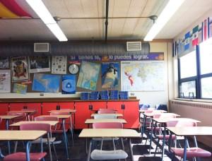 Spanish classroom