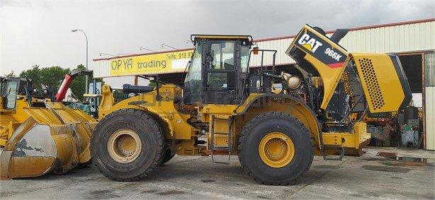 Pala cargadora Caterpillar 966K 163