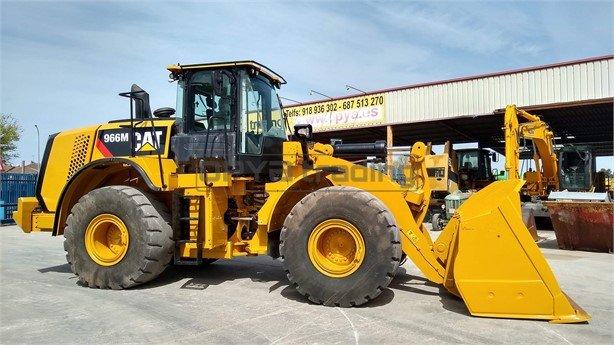 Pala cargadora Caterpillar 966M Profesiolan 181