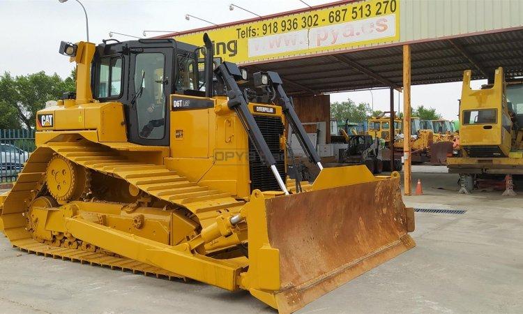 Bulldozer sobre orugas Caterpillar D6T LGP Profesiolan 202