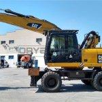 Excavadora de ruedas Caterpillar M318D Profesiolan 212
