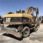Excavadora de ruedas Caterpillar M322C Profesiolan 224