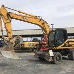 Excavadora de ruedas JCB JS160W Profesiolan 293
