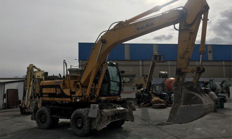 Excavadora de ruedas JCB JS160W Profesiolan 292